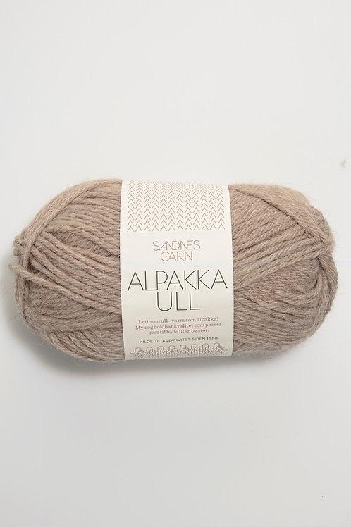 Alpakka Ull 2650 (Beigemelerad)