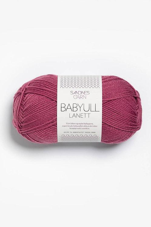 Babyull Lanett 4244 (Mörk gammalrosa)