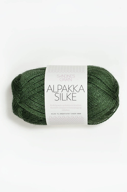 Alpakka Silke 8264 (Grön)