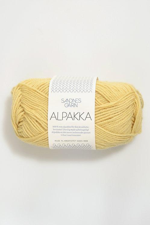 Alpakka 2112 (Ljusgul)