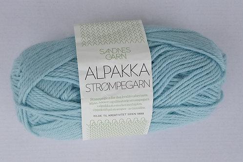 Alpakka Strumpegarn 7212 (Dov petrol)