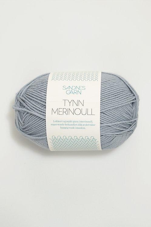 Tunn Merinoull 5830 (Ljusgrå)
