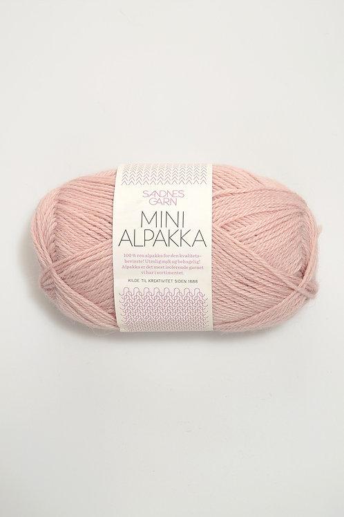 Mini Alpakka 3511 (Puderrosa)