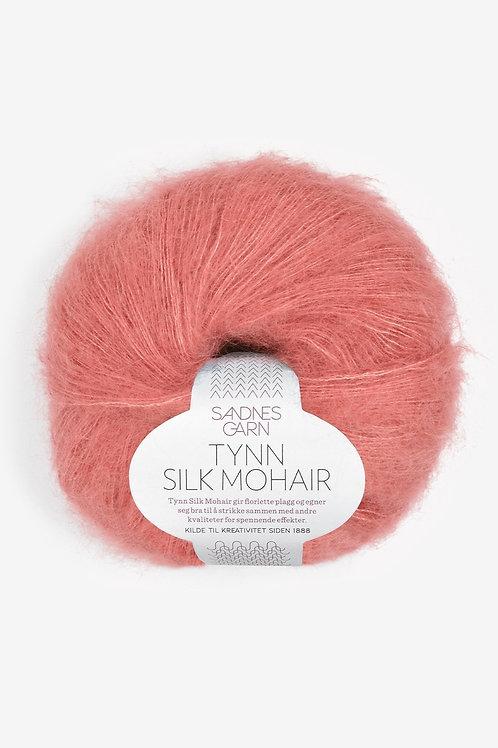 Tunn Silk Mohair 4025 (Ljus sienna)