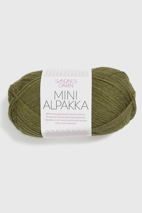 Mini Alpakka 9554 (Olivgrön)