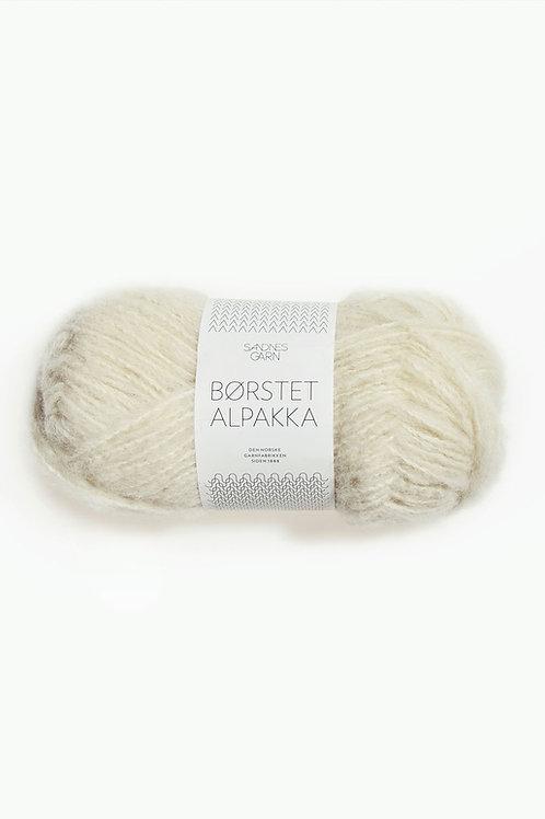 Borstad Alpakka 2102 (Vanilj)
