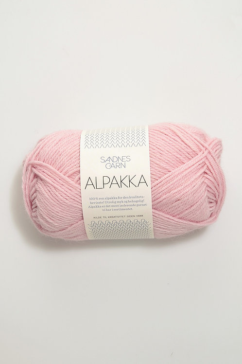 Alpakka 3911 (Ljusrosa)