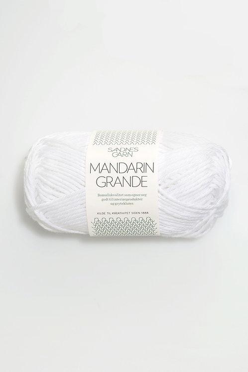 Mandarin Grande 1001 (Vit)