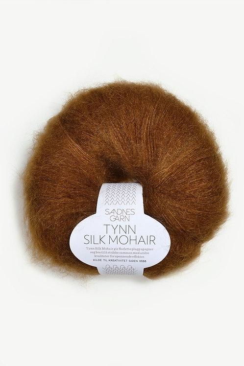 Tunn Silk Mohair 2755 (Gyllenbrun)