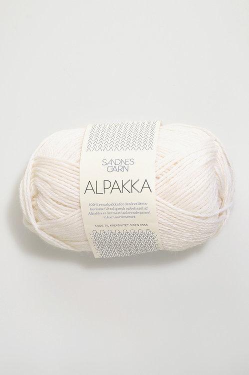 Alpakka 1001 (Vit)