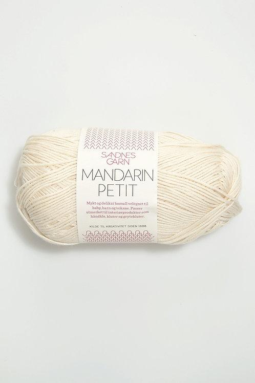 Mandarin Petit 1012 (Naturvit)