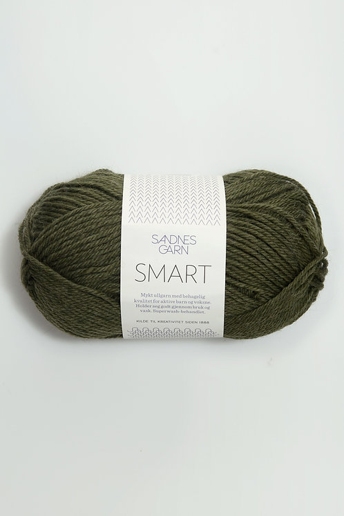 Smart 9572 (Mörkgrön - melerad)