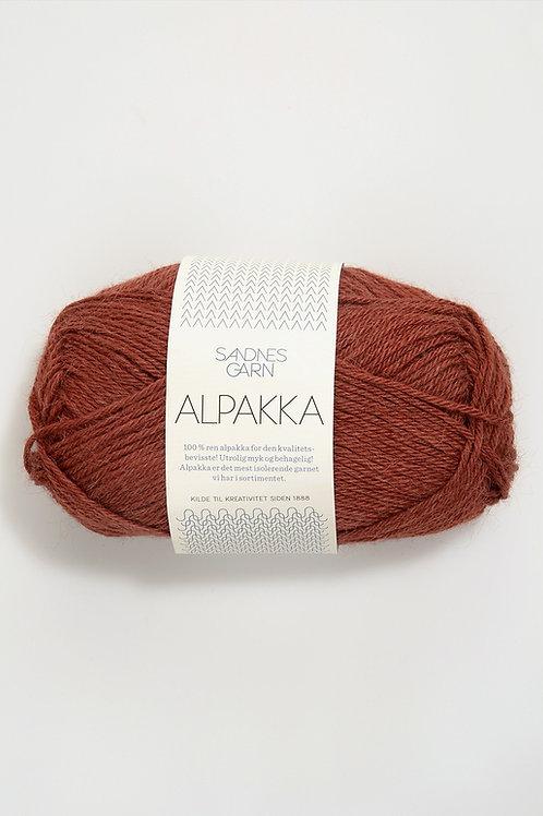 Alpakka 3355 (Bränd orange)