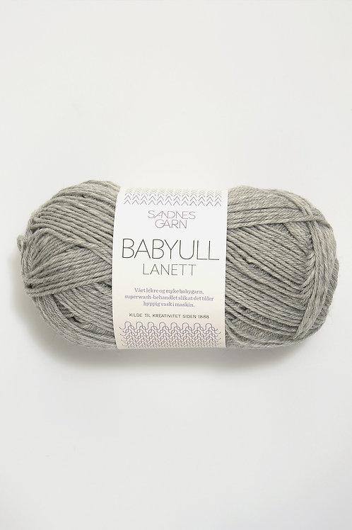 Babyull Lanett 1032 (Ljus gråmelerad)