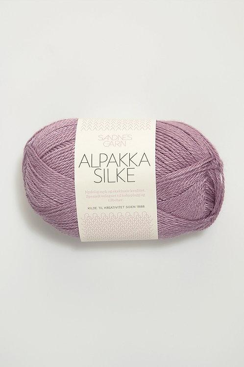 Alpakka Silke 4642 (Ljus ljung)