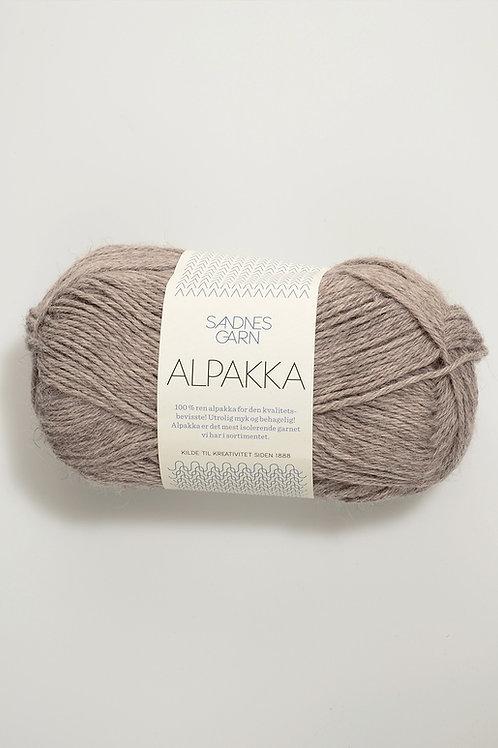 Alpakka 2650 (Gråbeigemelerad)