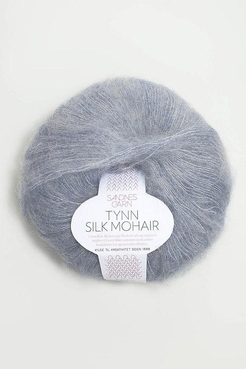 Tunn Silk Mohair 5835 (Blåmelerad)