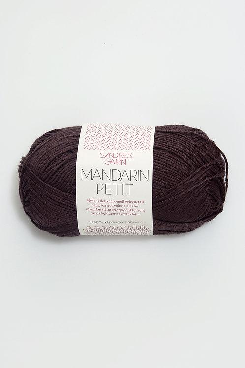 Mandarin Petit 3381 (Mörkbrun)