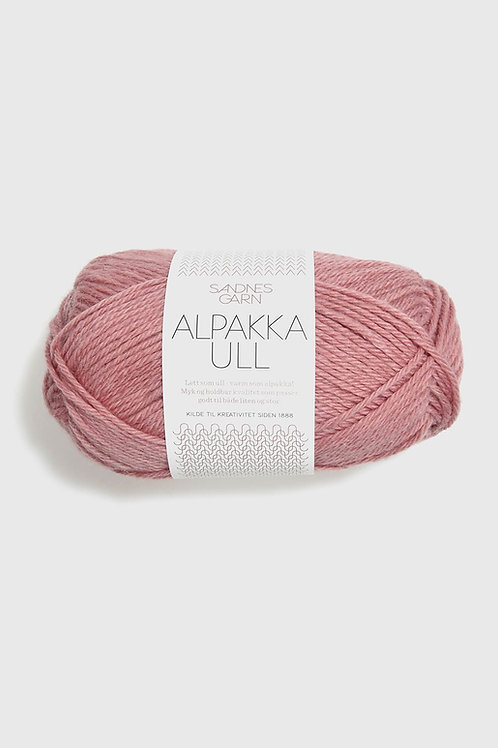 Alpakka Ull 4023 (Dovt gammalrosa)
