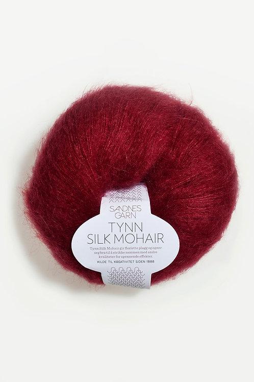 Tunn Silk Mohair 4236 (Djupröd)