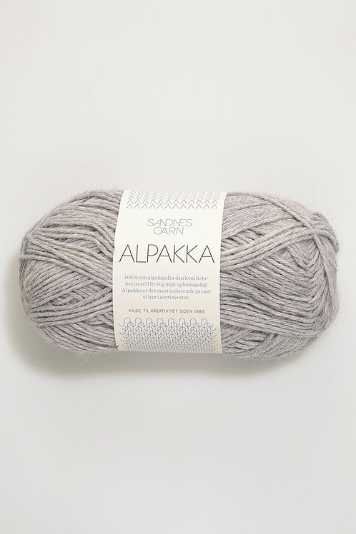 Alpakka 1032 (Ljust gråmelerad)