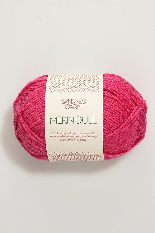 Merinoull 4516 (Varm rosa)
