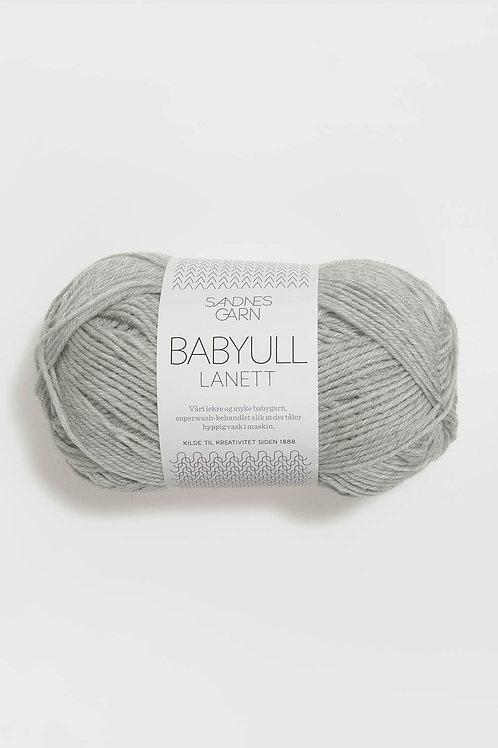 Babyull Lanett 1022 (Ljust gråmelerad)