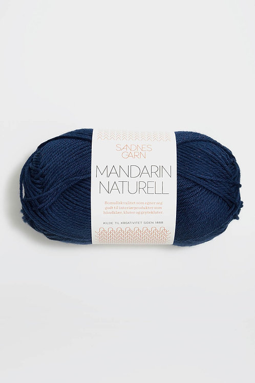Mandarin Naturell 6073 (Marinblå)