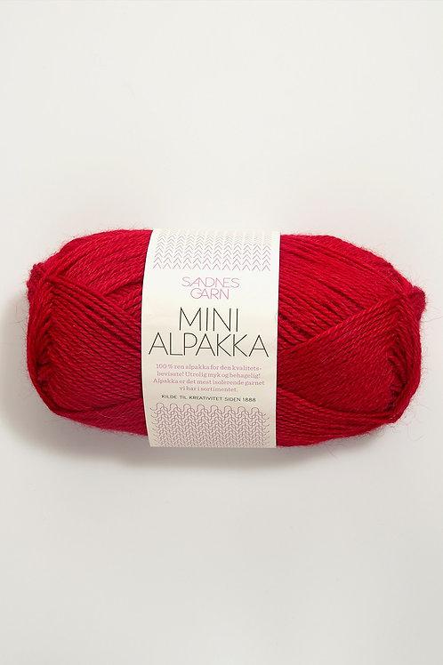 Mini Alpakka 4219 (Röd)