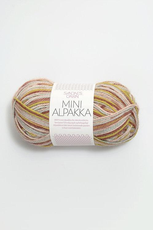Mini Alpakka 2173 (Akvarell print)