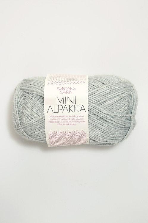 Mini Alpakka 7521 (Dovt ljusblå)