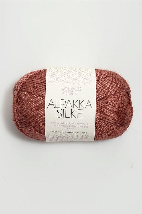 Alpakka Silke 3543 (Varmbrun)