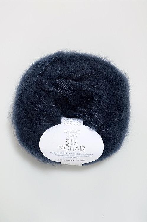 Silk Mohair 6081 (Djupblå)