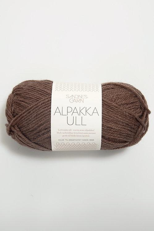 Alpakka Ull 3161 (Mellanbrun)