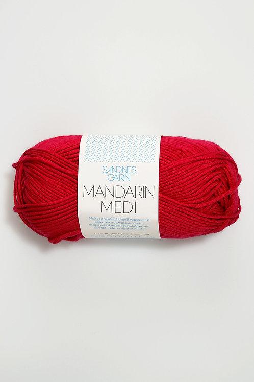 Mandarin Medi 4418 (Mörkröd)