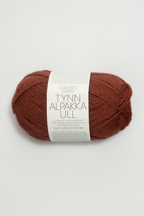 Tunn Alpakka Ull 3355 (Rost)