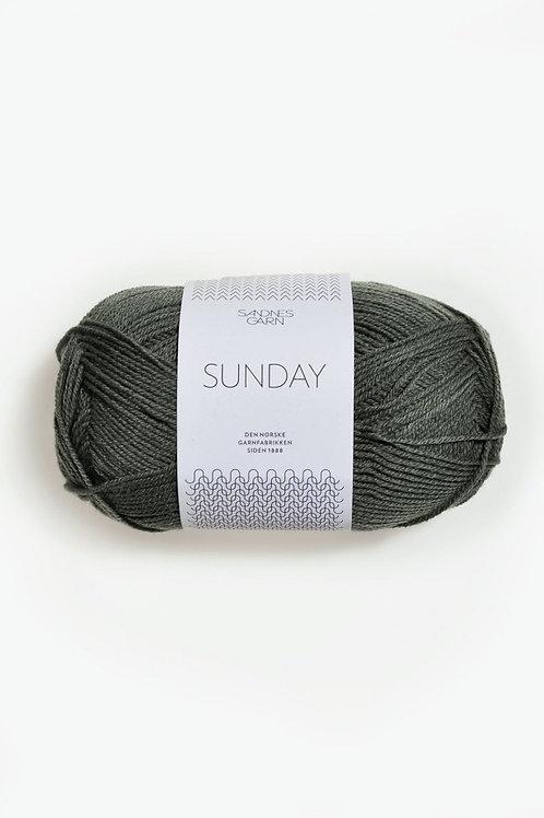 Sunday PetiteKnit 9071 (Dovt olivgrön)