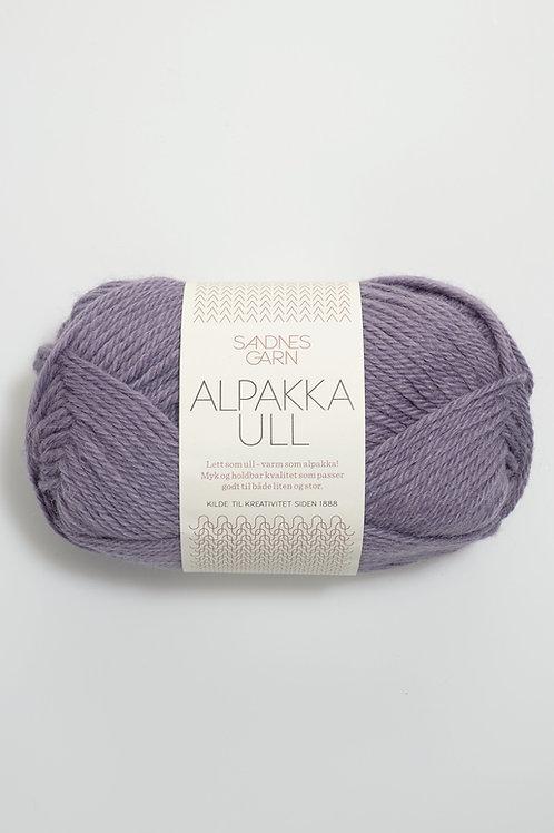 Alpakka Ull 5042 (Blek lila)