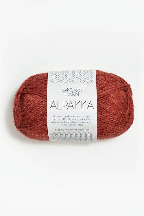 Alpakka 4035 (Mörk terrakotta)