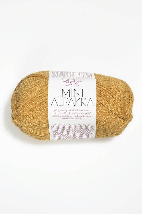 Mini Alpakka 2134 (Gul sand)