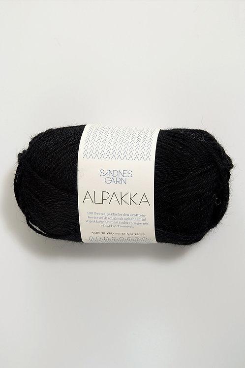 Alpakka 1099 (Svart)