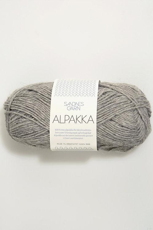 Alpakka 1042 (Gråmelerad)