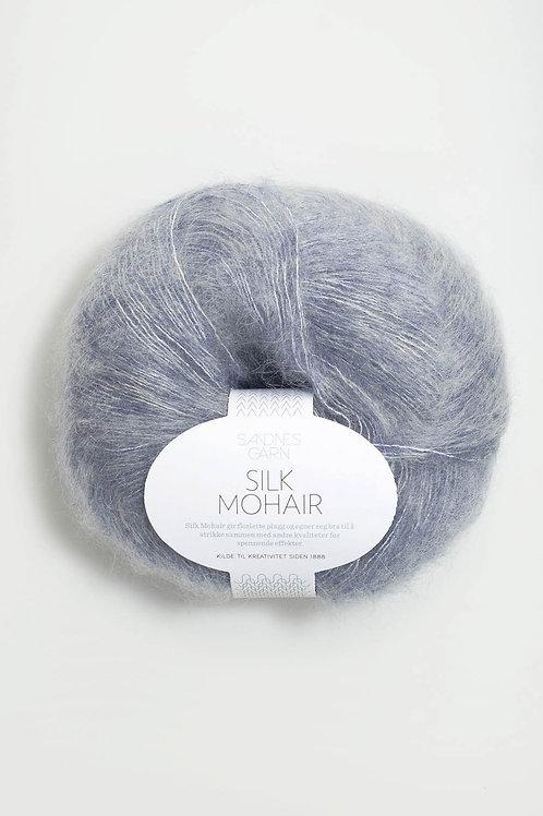 Silk Mohair 5835 (Blåmelerad)