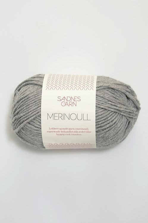 Merinoull 1042 (Gråmelerad)