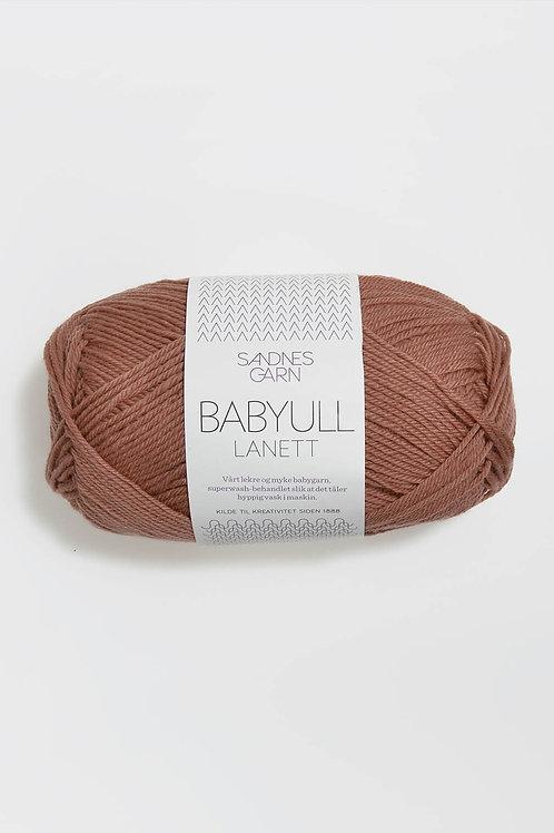 Babyull Lanett 3544 (Brunrosa)