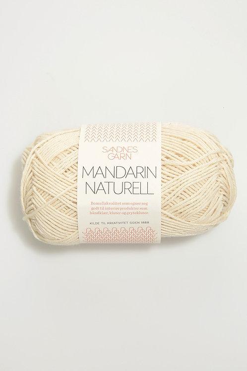 Mandarin Naturell 1012 (Naturvit)
