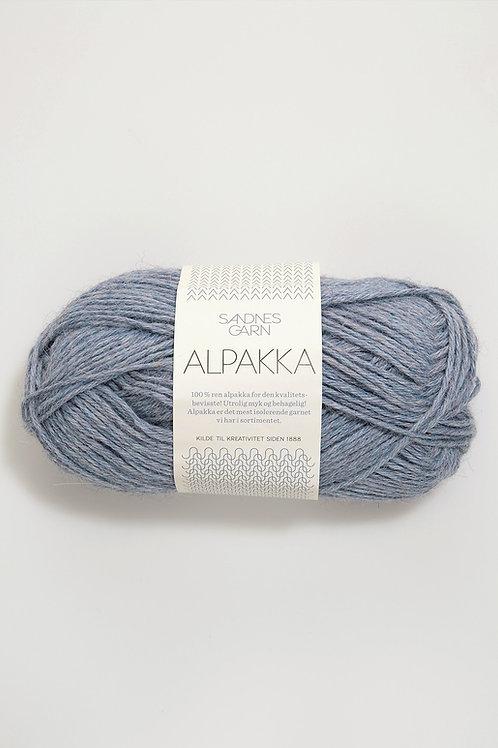 Alpakka 6221 (Ljusblå melerat)