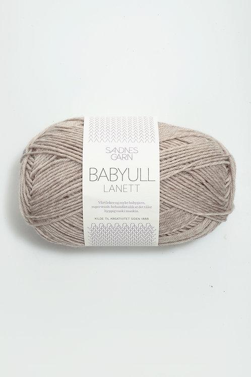 Babyull Lanett 2650 (Ljus beigemelerad)