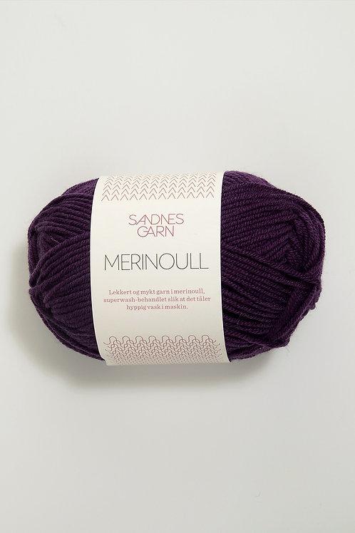 Merinoull 4855 (Mörklila)
