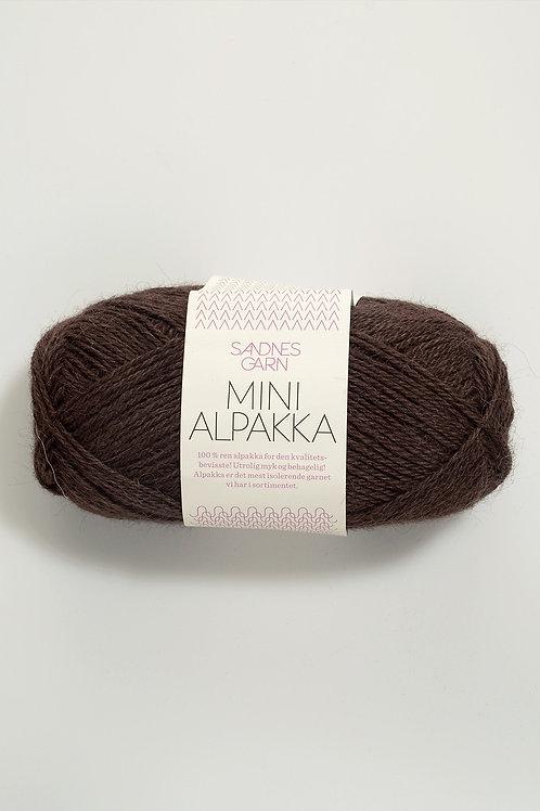 Mini Alpakka 4071 (Mörkbrun)